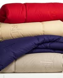 Colored Down Alternative Comforter Lauren Ralph Lauren Color Down Alternative Comforters Macys Com