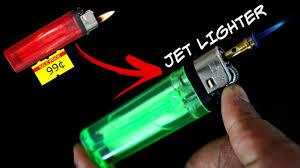 diy how to make a jet lighter at home diy rex youtube