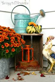 Fall Decorating Projects - the cozy old