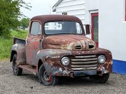 rusty pickup truck rusty old 1948 ford pickup truck route 66 in williamsvill flickr