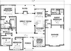 4 bedroom house plans single story google search house farmhouse style house plan 4 beds 2 baths 1690 sq ft plan 20 362
