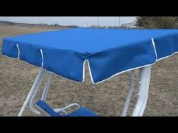 Patio Swing Covers Replacements How To Make A Replacement Swing Canopy Canopy Swings And Advice