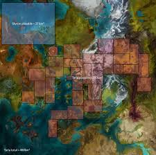 Skyrim World Map by Guild Wars 2 Is Smaller Than Skyrim Tyrian Assembly Guild