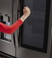 Lg French Door Counter Depth - lg lfxc24796d 36 inch counter depth french door refrigerator with