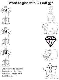 hard and soft g worksheets worksheets