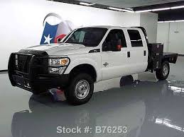 2014 ford f250 for sale ford f 250 crew diesel 4x4 flat bed brush guard 2014