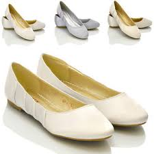 chaussures plates mariage neuf pour femmes plat ballerine mariage noces blanche ivoire