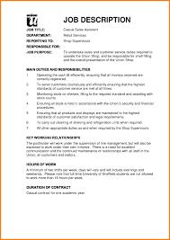 Job Description Of Sales Associate For Resume Mesmerizing Sales Associate Job Description Resume Sample With