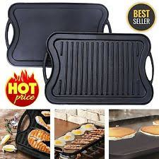 Best Grill Pan For Ceramic Cooktop Stove Top Grill Pan Ebay