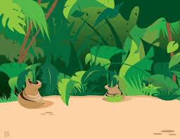 safari cartoon animal cartoon jungle plants 203482 wallpaper wallpaper