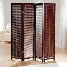 Wooden Room Dividers | tranquility wooden shutter room divider walmart com