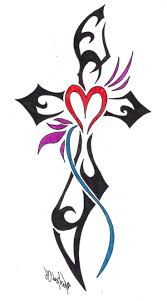 tatoo design tribal the 25 best tribal cross tattoos ideas on pinterest cross