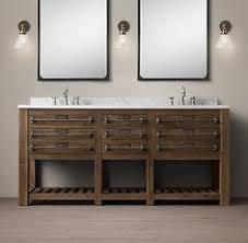 Restoration Hardware Bathroom Vanity by Printmakers Double Vanity Sink Restoration Hardware Baño