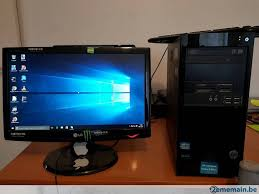 ordinateurs de bureau hp ordinateur de bureau hp i3 4gb 500gb ecran lg 18 5 a vendre
