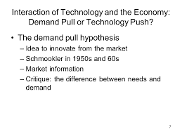 The Economic View From The 1 An Economic View On Technological Change And Innovation B