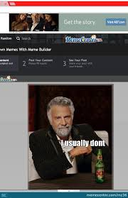 Memes Builder - using meme builder when suddenly this ad shows up at typing i