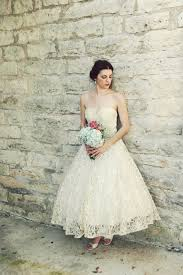 etsy tea length wedding dress wedding dress bridal gown inspiration from etsy 1950s tea length