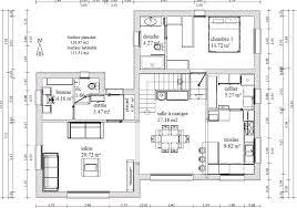 plan salon cuisine sejour salle manger salon salle a manger cuisine 50m2 attrayant salon salle a