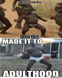 Third World Child Meme - third world success dancing black kid at first i black kids meme