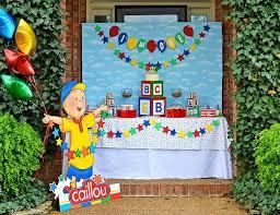 caillou party supplies caillou birthday caillou birthday party catch my party