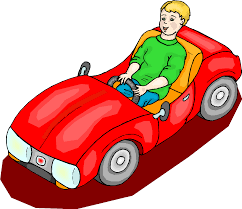 cartoon car back car trip clipart cartoon blue car clip art library