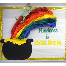 kindness is golden st patrick u0027s day bulletin board
