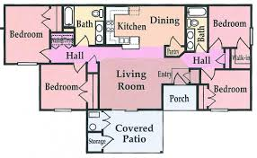 4 bed floor plans floor plans