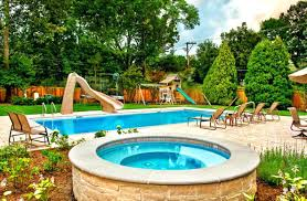 Backyard Ideas For Summer Small Backyard Landscaping Ideas With Pool Backyard Designs With