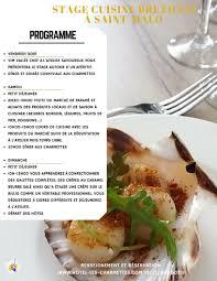 cours de cuisine st malo stage de cuisine malo 19 04 2018 21 04 2018 gastronomie