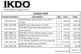 Price Of Kitchen Cabinet Kitchen Cabinet Design Ikea Design Price For Kitchen Cabinets