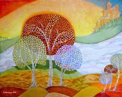 paint dream hemu aggarwal artwork landscape in my dream original painting