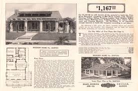 savoy floor plan a popular california bungalow pattern used by sears modern homes
