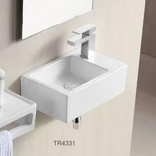 design handwaschbecken eckige handwaschbecken für das badezimmer ebay