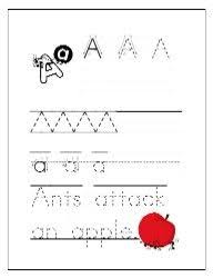 tons of free preschool printable pdf worksheets trace letters