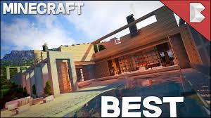 Best House Minecraft Best Modern House 2017 Youtube