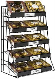 5 Tier Wire Shelving by 5 Tier Wire Countertop Rack With Welded Sign Channel