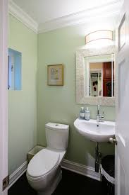 Bathroom Crown Molding Ideas Glamorous Pottery Barn Mirrors Trend Chicago Transitional Bathroom