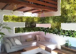 giardini interni casa vivacizzare il soggiorno con un giardino verticale