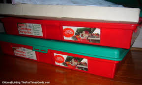 christmas paper storage 9 easy christmas storage solutions that work the homebuilding
