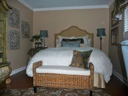 White Wicker Bedroom Bench Furniture Rattan Bench By Seagrass Furniture With Wooden Legs For