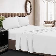 tribeca living 350tc cotton percale 4 sheet set