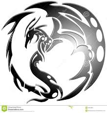 dragon tattoo stock photo image 30930960
