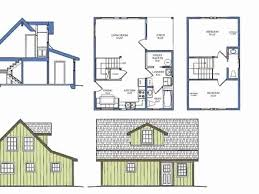 cottage floor plans with loft small cabin house plans with loft elegant house plans with loft