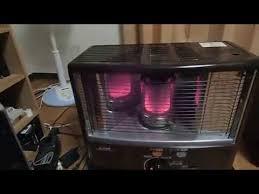 japanese heater japanese kerosene room heater control youtube