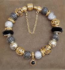pandora chain bracelet charms images Elegant self styled pandora bracelet seen at pandora shellharbour jpg