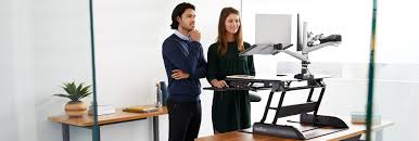 Stand Up And Sit Down Desk by Height Adjustable Standing Desks Varidesk Sit To Stand Desks