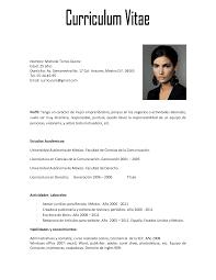 vita resume example 2016 curriculum vitae samples recentresumes com ejemplo de curriculum vitae con foto como construir