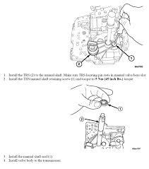 100 42rle manual valve body automatic transmission line