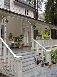 wraparound porch farmhouse has dreamy interior and exteriors porch ideas