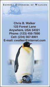 wildlife contact cards 4checks